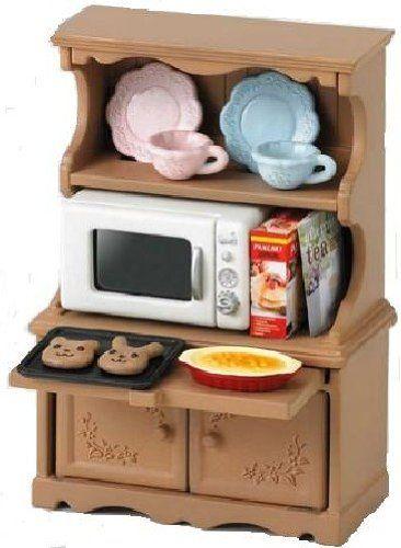 "Epoch Sylvanian Families Sylvanian Family Doll ""Kitchen Cabinet & Microwave Set Ka-413"" Epoch http://www.amazon.com/dp/B0033UFF8Q/ref=cm_sw_r_pi_dp_WdRyvb080GXZZ"