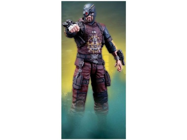 Batman Arkham City Action Figure Series 04 - Deadshot - Batman Arkham City