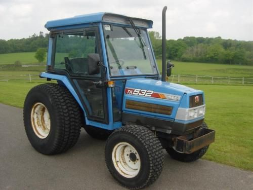 #Iseki tk532 compact #tractor, cab, 16 speed #shuttle shift, 32hp, 4wd,  View more on the LINK: 	http://www.zeppy.io/product/gb/2/331859832618/