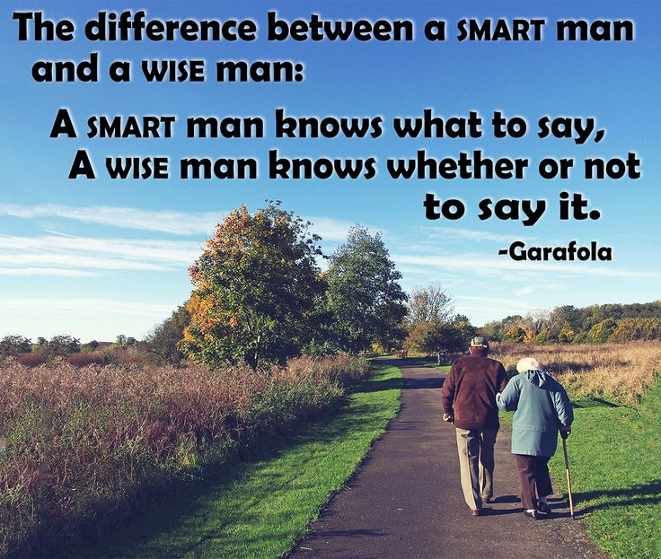 Smart Vs Wise #quotes #sayings #inspirational