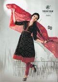 cotton printed dress material DEEPTEX CHUNARI