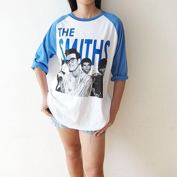 The+Smiths+Morrissey+Shirts+UK+80s+Indie+by+PunkRockTshirt+on+Etsy,+$18.00