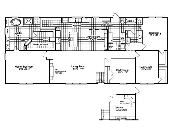 Floor PlanThe Canyon Bay II HHT476A5 Plans Pinterest Beach House And