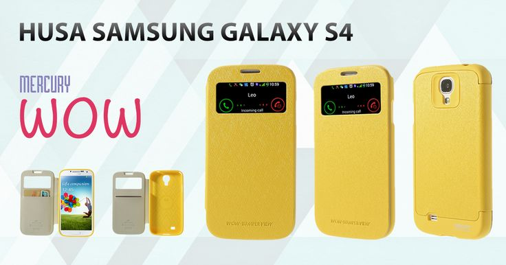 Descopera husele Mercury Wow pentru Samsung Galaxy S4, comanda, beneficiezi de preturi reduse!