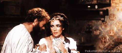 kiss-taming-of-the-shrew.- Elizabeth Taylor