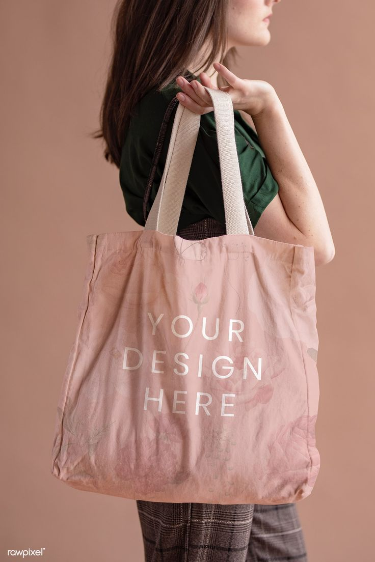 Download Download Premium Psd Of Woman With A Tote Bag Mockup 1216472 Bag Mockup Cotton Shopping Bags Tote Bag