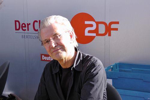 Jürgen Todenhöfer auf dem Blauen Sofa