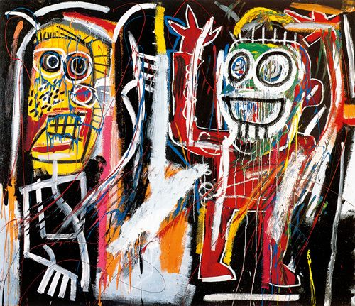 Dustheads, 1982 Art Print by Jean-Michel Basquiat at King & McGaw