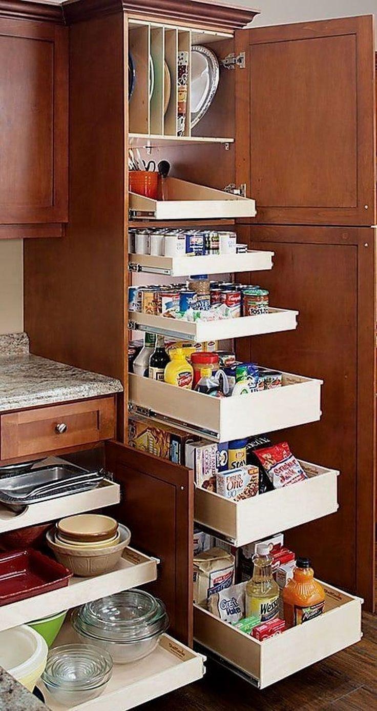 unimaginable diy ideas for kitchen storage 30 wooden kitchen cabinets diy kitchen cabinets on kitchen organization diy id=85609