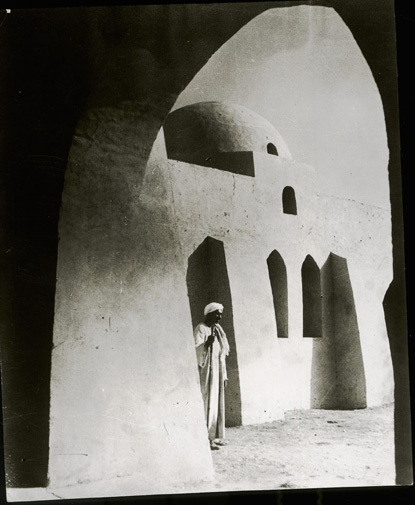 Gourna - Hassan Fathy was involved in the construction of New Gourna, located on Luxor's West Bank, built to resettle the tomb robbers that operated in the Valley of the Kings and the Valley of the Queens.