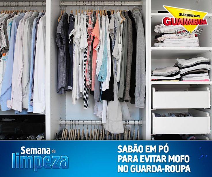 Sabão em pó para evitar mofo — Supermercados Guanabara