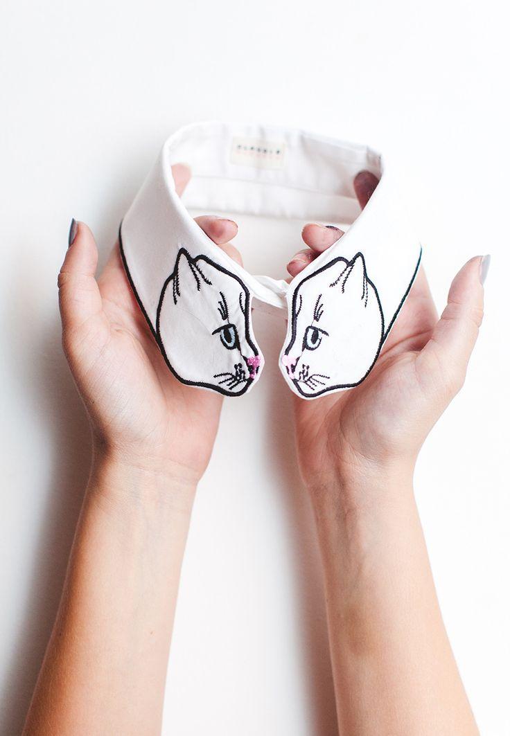 Cat collar by Vivetta via WishWishWish
