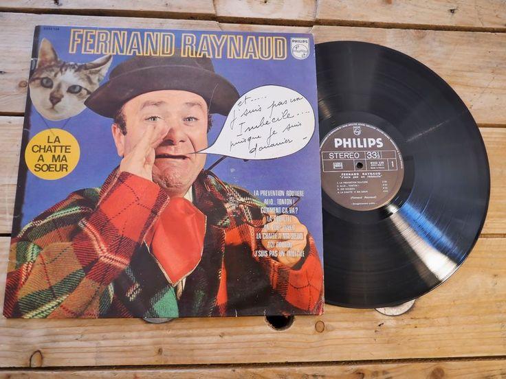 FERNAND RAYNAUD J'SUIS PAS UN IMBECILE LP 33T VINYLE EX COVER EX ORIGINAL