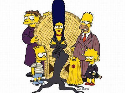 los-simpsons-y-la-familia-adams