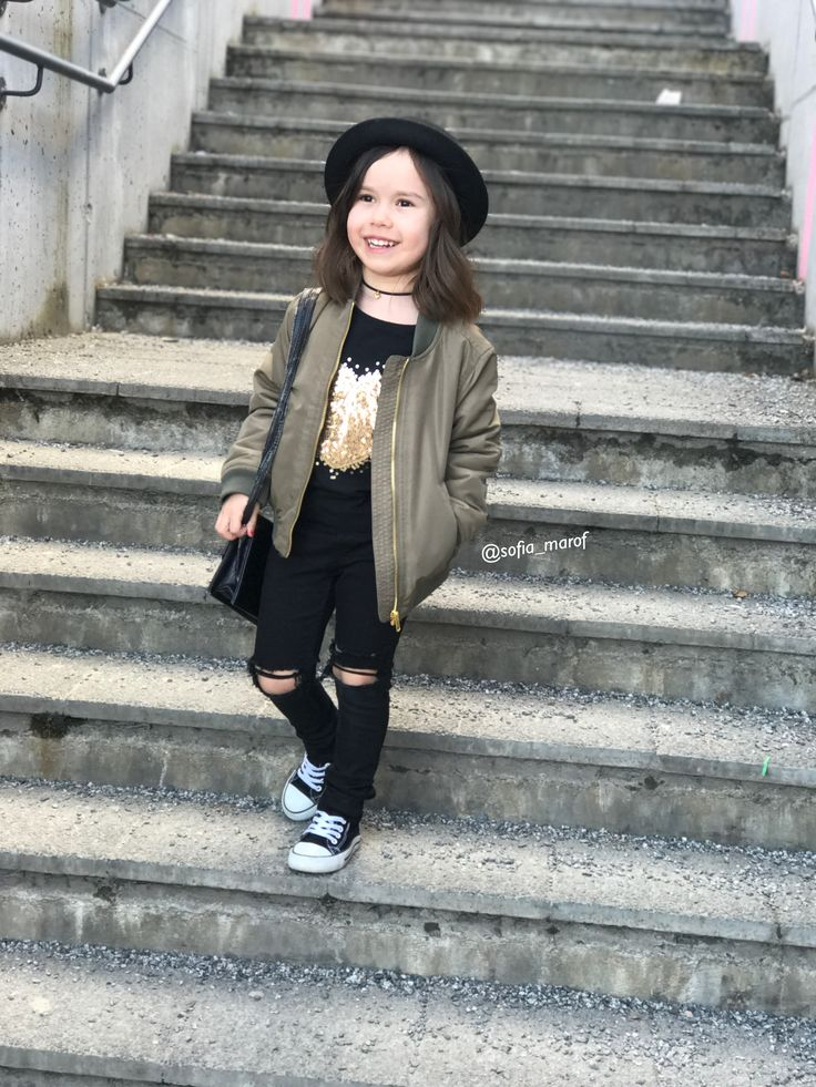 Kids style street fashion