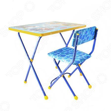 Ника «Познайка» ЯВ050253  — 1787р. ----------------------------- Набор мебели детский: стол и стул Ника Познайка ЯВ050253 отлично дополнит интерьер детской комнаты. Мебель многофункциональна и практична в использовании; подходит для различных игр, собирания пазлов, рисования, лепки из пластилина и т.д. Столик и стульчик выполнены из высококачественного, безопасного для здоровья ребенка пластика и металла. Поверхность мебели легко очищается от загрязнений. Предназначено для детей в возрасте…