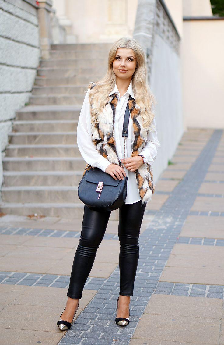 кожаные штаны трубки-2