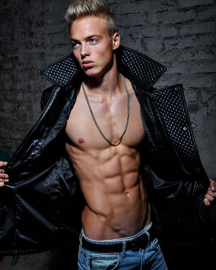 German blonde muscle god hagen richter