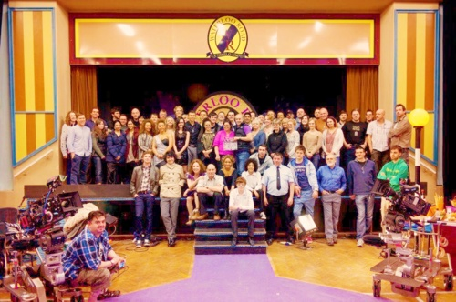 Last Photo of the Waterloo Road Cast & Crew in Rochdale - Final Day of Filming