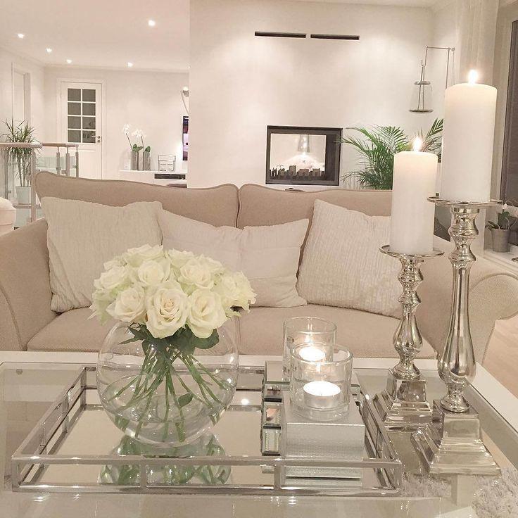 26 formas elegantes de decoración moderna de la sala de estar pueden hacer de su hogar …