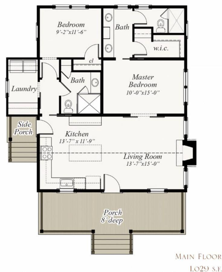 Stunning Photo Moderncountrycottage In 2020 Small House Floor Plans Tiny House Floor Plans Cabin House Plans