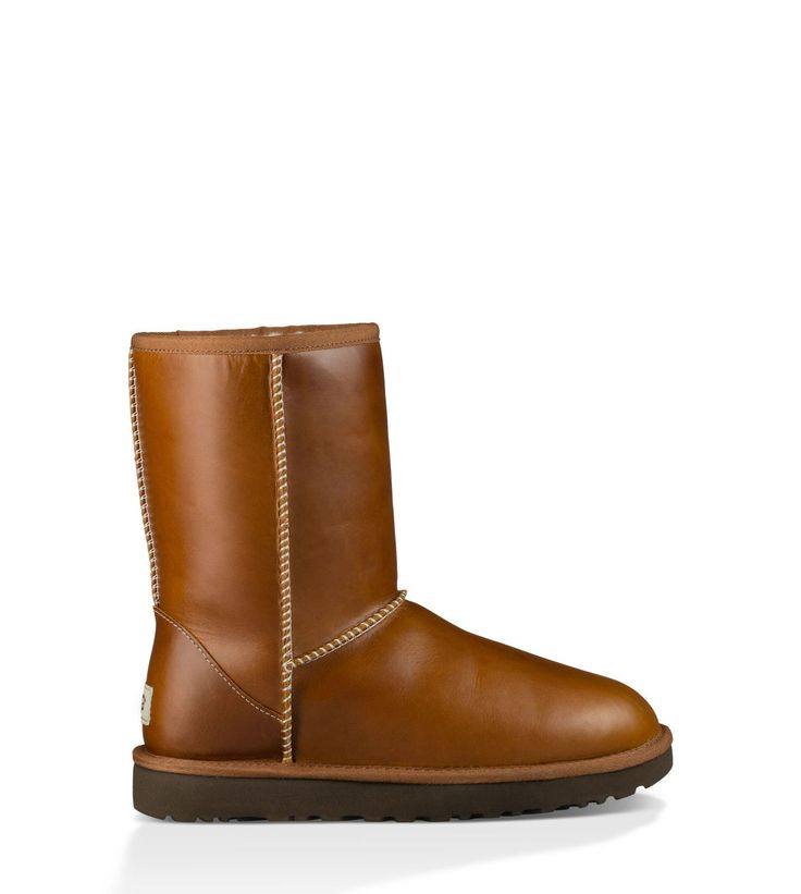 UGG® Official   Women's Classic Short Leather Boots   UGG.com