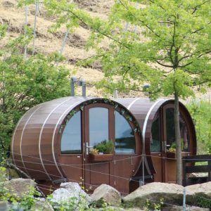 Schlafen im Weinfass Sasbachwalden, Schwarzwald, Erlebnis Übernachtung › Schlafen im Weinfass