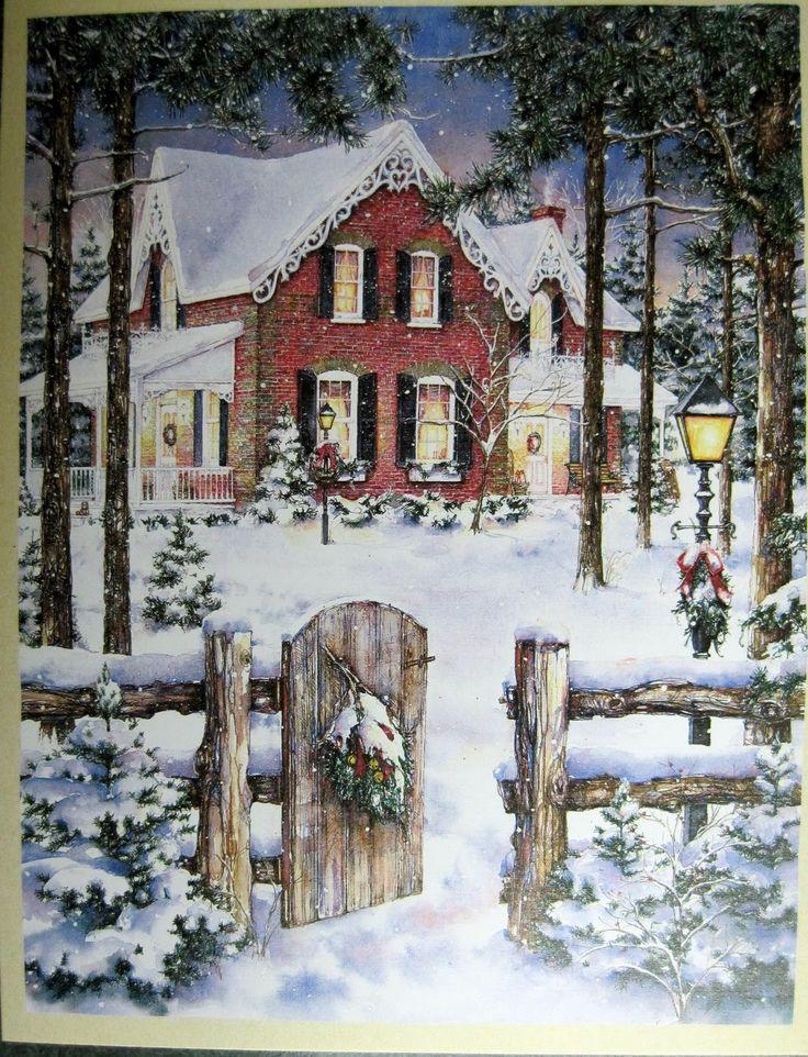 victorian christmas scenes - photo #16