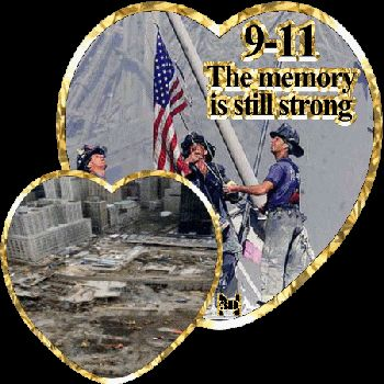 I ♥ THE HEROES OF 9-11. LET US NEVER FORGET...
