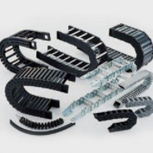 Drive chain is a machine element that transmits the power of a motor to driven machinery via sprockets.
