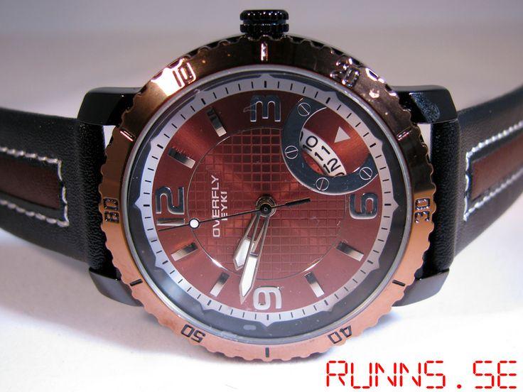 Armbandsur Eyki - Overfly Sport (brun/svart) #eyki #kimio #sportklocka #sportklockor #armbandsur #klocka #klockor #herrklocka #herrklockor #runns #watch #watches #nato #natoband #overfly