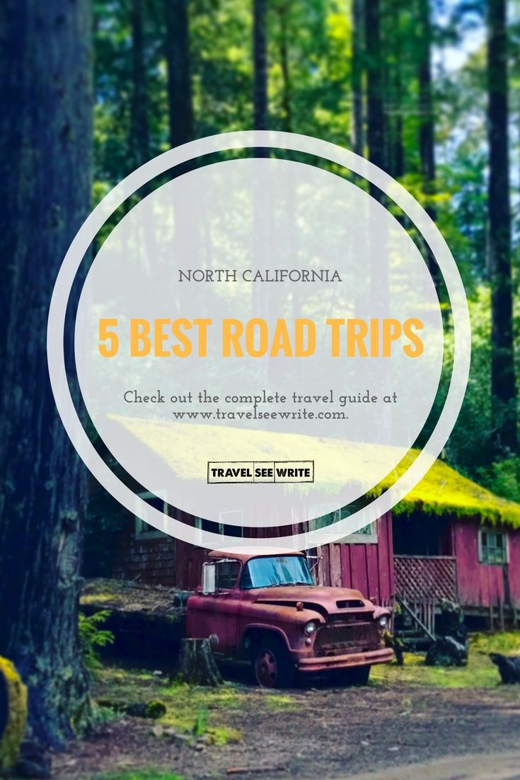 California is made for Road Trips. If you haven't done one yet, it's high time you should. Read more about the 5 best Northern California Road Trips on www.travelseewrite.com