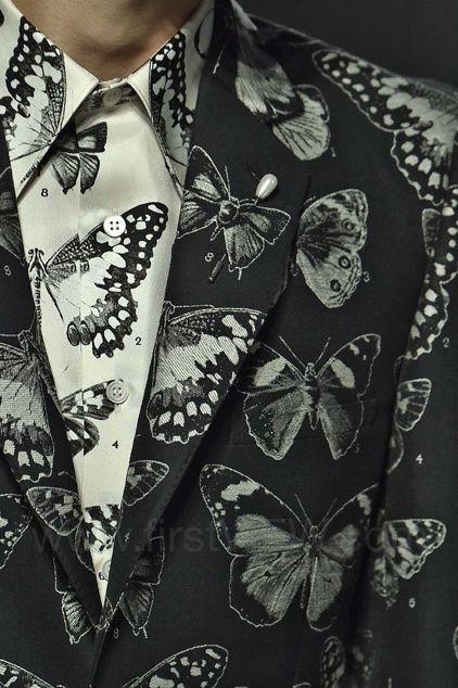 Alexander McQueen Menswear AW16 details