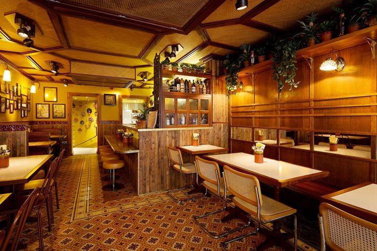 The best restaurants in Soho, Tatler. Hoppers. Hoppers are Sri Lankan rice bowls. Part Andalusian bodega, part tropical tiki hut. 49 Frith Street