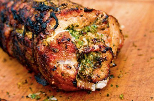 Stuffed Jerk Pork  #jamaican food