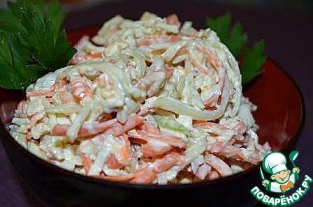 Китайский салат - кулинарный рецепт