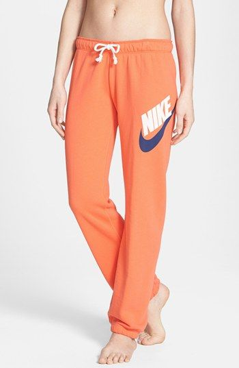 Nike 'Rally' French Terry Sweatpants  I need you in my life.