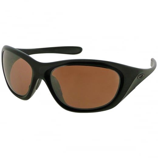 """Oakley Ladies """"Disclosure"""" Brown Sugar Wraparound Sports Sunglasses. Model Number: OO9130 01. The perfect sunglasses for the active girl, Oakley Disclosure™ is always ready to play. When you want performance and comfort without sacrificing style, this is the pair to wear."""