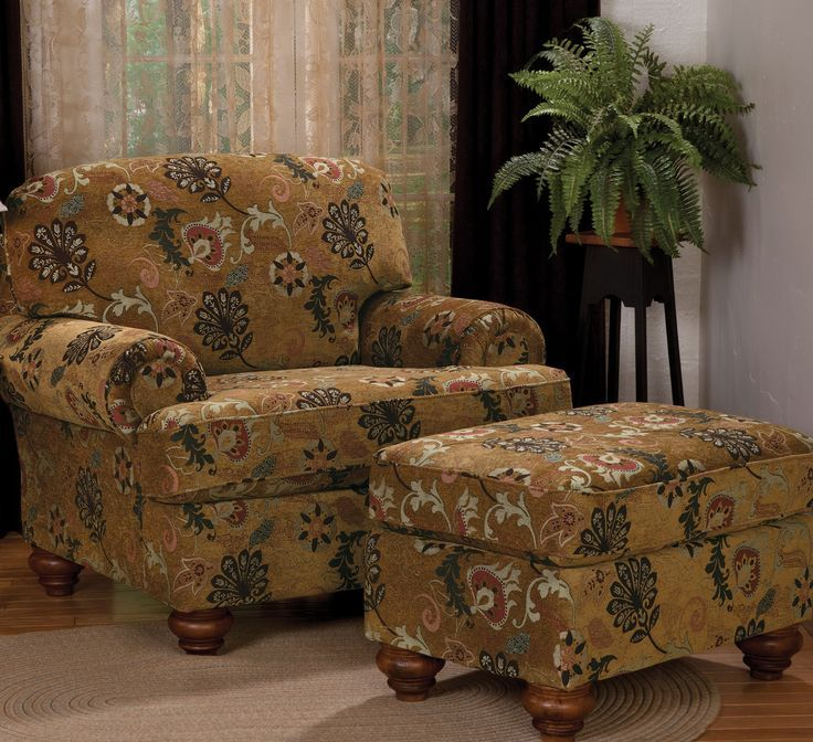 Image result for vintage overstuffed chairs Chair and
