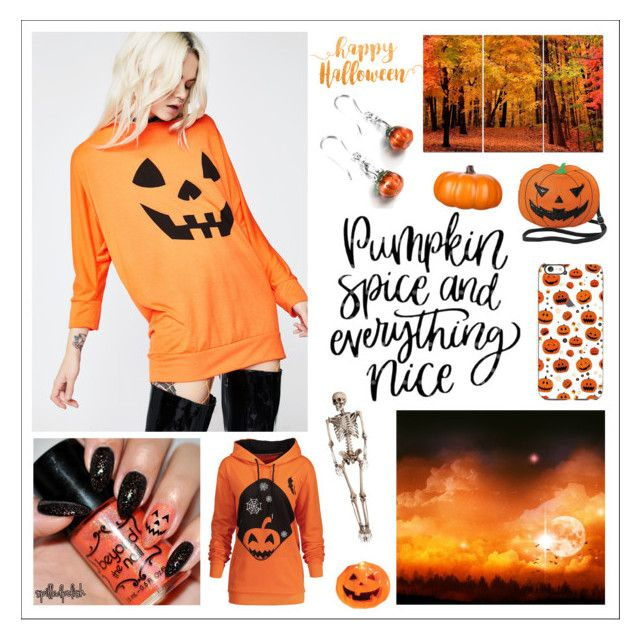 """""""pumpkin"""" by flie9enpilz on Polyvore featuring Leg Avenue and Sleepyville Critters"""