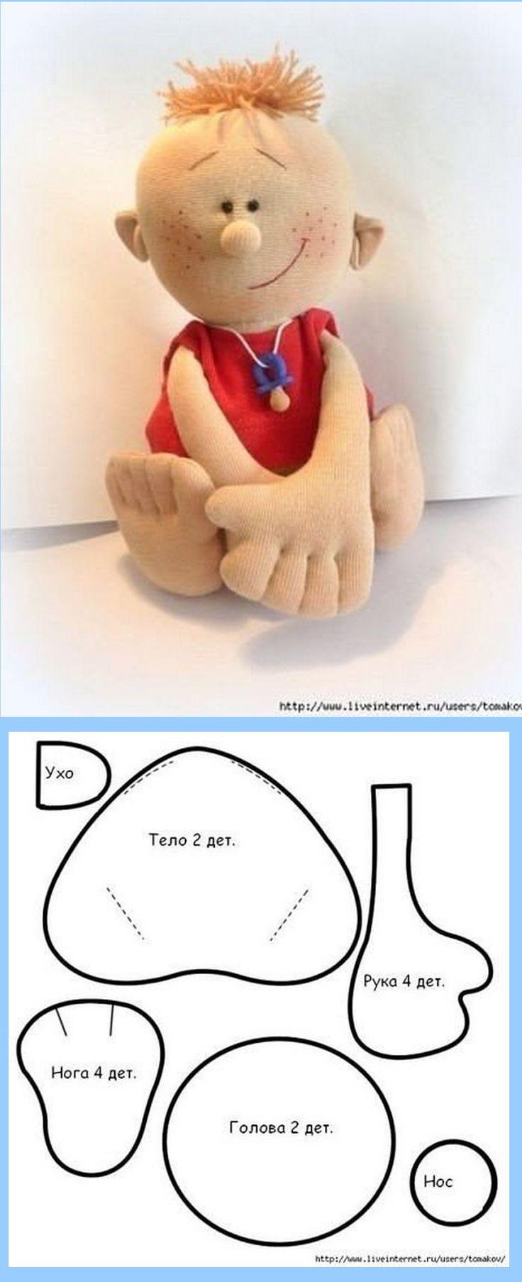 cute n easy boy doll