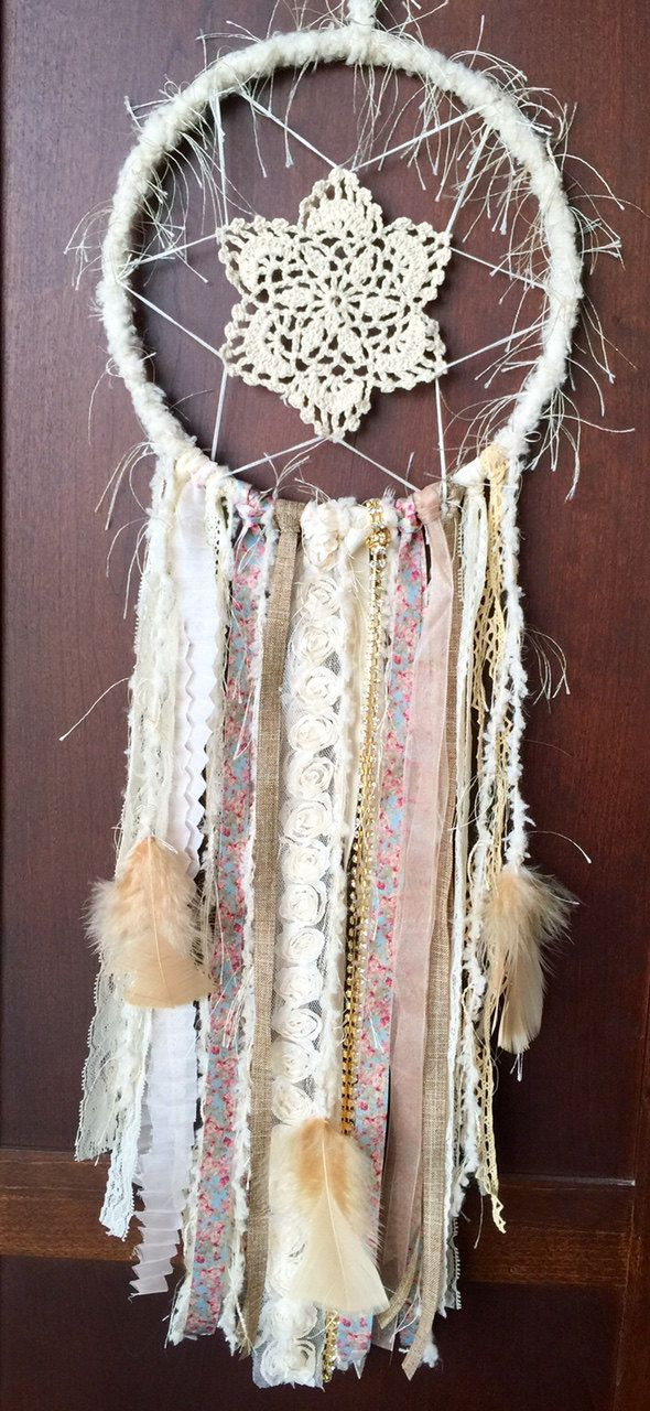 Large Whimsical Dreamcatcher 1 by bohodreamscompany on Etsy