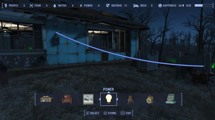 Fallout 4 How to power up a house guide shows you step by step how to turn on the lights, build generators and solutions to some problems.