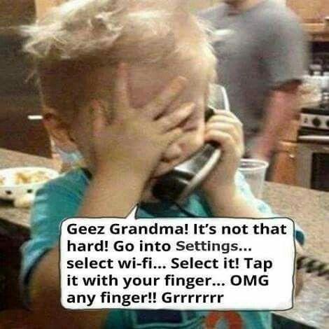 You porn grandma