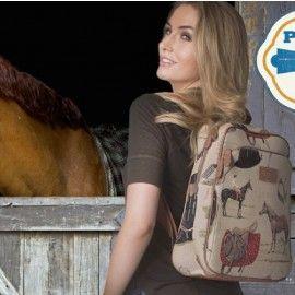 Horse Tapestry - Backpack/Laptop Bag