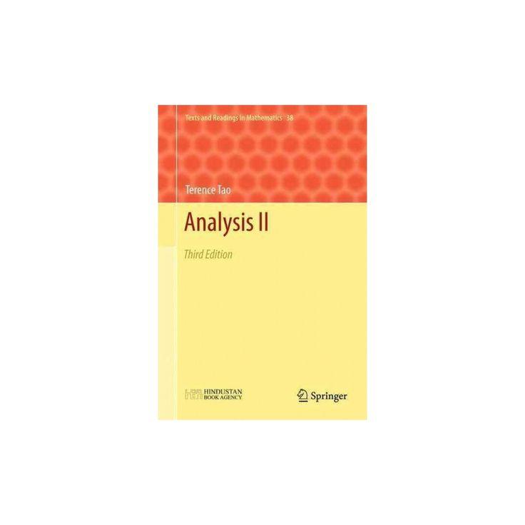 Analysis 2 (Hardcover) (Terence Tao)