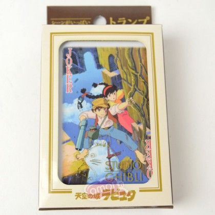 Studio Ghibli: Laputa - Castle in the Sky Playing cards