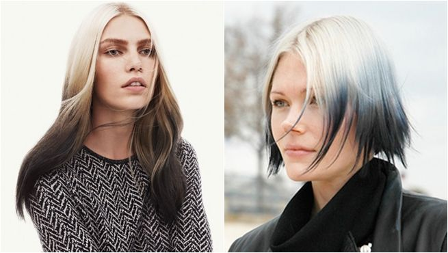"""Raíces claras y puntas oscuras, el """"ombre hair"""" inverso también está de moda"""