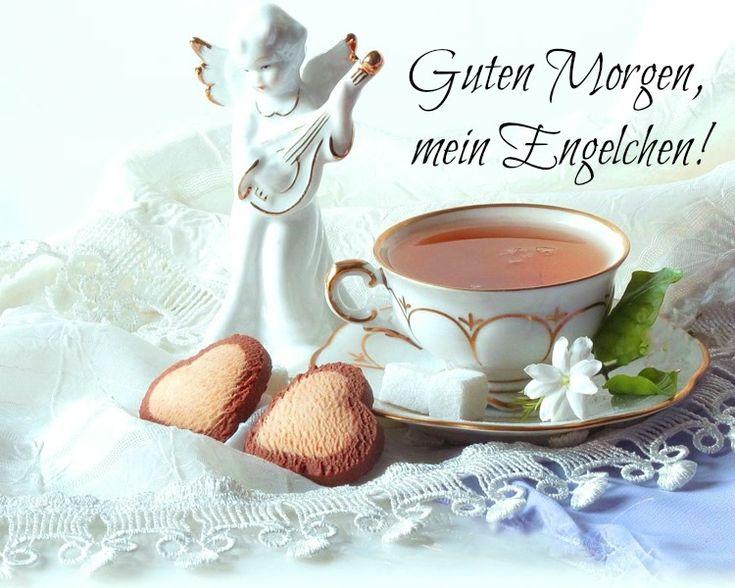guten-morgen-bilder-kostenlos-engel-engelchen-tee