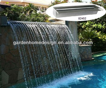 Stainless Steel Waterfall Fountain - Buy Wall Waterfall Fountains ...